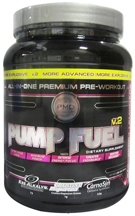 DROPPED: NDS Nutrition - Pump Fuel v.2 Raspberry Lemonade - 1.9 lbs. CLEARANCE PRICED