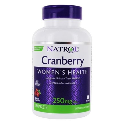 Natrol - Cranberry Fast Dissolve 250 mg. - 120 Tablets