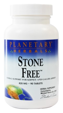 Planetary Herbals - Stone Free 820 mg. - 90 Tablets