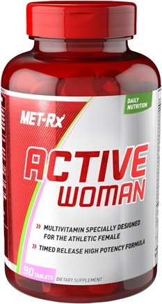 DROPPED: MET-Rx - Active Woman Daily Multivitamin - 90 Tablets