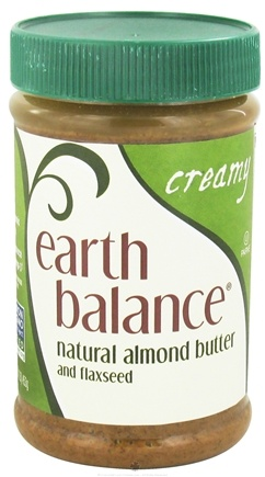 DROPPED: Earth Balance - Natural Almond Butter and Flaxseed Creamy - 16 oz.