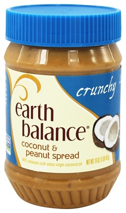 Earth Balance - Coconut and Peanut Spread Crunchy - 16 oz.