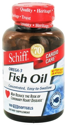 DROPPED: Schiff - Omega-3 Fish Oil - 100 Softgels