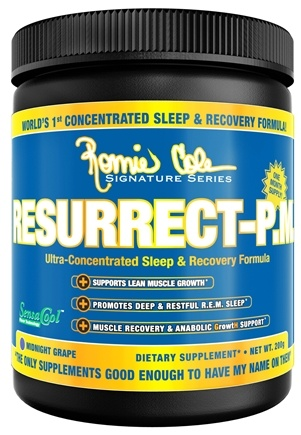 DROPPED: Ronnie Coleman Signature Series - Resurrect-PM Ultra-Concentrated Sleep & Recovery Formula Midnight Grape - 200 Grams