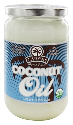 Jungle Products - Organic Coconut Oil - 14 oz.