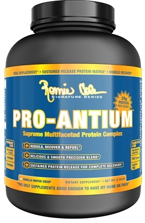 DROPPED: Ronnie Coleman Signature Series - Pro-Antium Supreme Multifaceted Protein Complex Vanilla Wafer Crisp - 4.74 lbs.