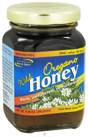 DROPPED: North American Herb & Spice - Wild Oregano Honey - 9.4 oz. CLEARANCE PRICED