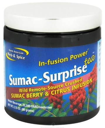 DROPPED: North American Herb & Spice - Sumac-Surprise Infusion Power Tea - 2.75 oz. CLEARANCE PRICED