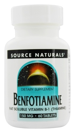 Source Naturals - Benfotiamine 150 mg. - 60 Tablets