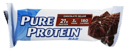 Pure Protein - High Protein Bar Chocolate Deluxe - 6 x 1.76 oz. Bars