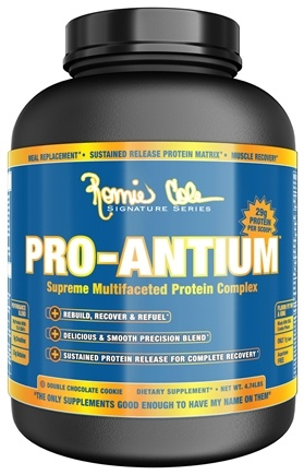DROPPED: Ronnie Coleman Signature Series - Pro-Antium Supreme Multifaceted Protein Complex Double Chocolate Cookie - 4.74 lbs.