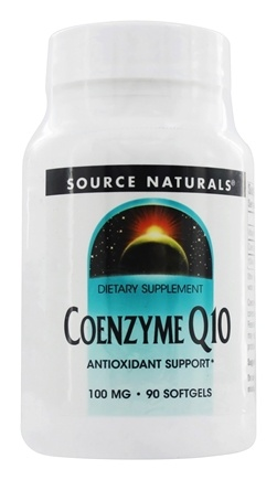 Source Naturals - Coenzyme Q10 100 mg. - 90 Softgels