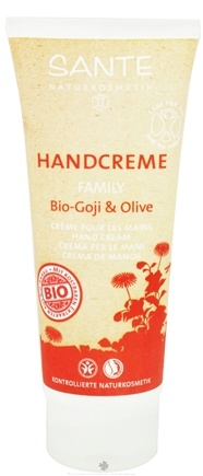 DROPPED: Sante - Family Hand Cream Organic Goji & Olive - 3.4 oz.