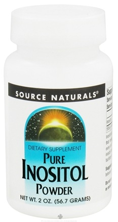 DROPPED: Source Naturals - Inositol Powder Pure - 2 oz. CLEARANCE PRICED