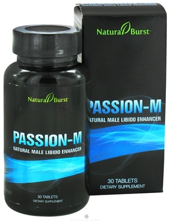 DROPPED: Neutralean - Passion-M Natural Male Libido Enhancer - 30 Tablets (Formerly Natural Burst)