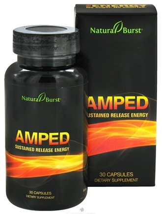DROPPED: Neutralean - Amped Sustained Release Energy - 30 Capsules (Formerly Natural Burst) CLEARANCE PRICED