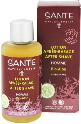 DROPPED: Sante - Homme After Shave Organic Aloe - 3.4 oz. CLEARANCE PRICED