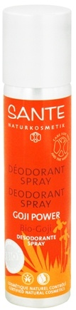 DROPPED: Sante - Deodorant Spray Goji Power - 3.4 oz. CLEARANCE PRICED