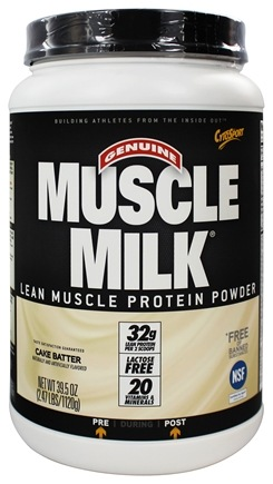 Cytosport - Muscle Milk Genuine Nature's Ultimate Lean Muscle Protein Cake Batter - 2.47 lbs.