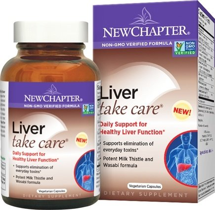 DROPPED: New Chapter - Liver Take Care - 60 Vegetarian Capsules