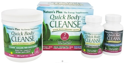 DROPPED: Nature's Plus - Quick Body Cleanse 3-Part System - 7 Day Program CLEARANCE PRICED