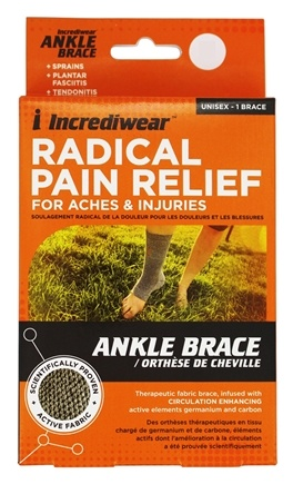 Incrediwear - Ankle Support Brace Small/Medium Men Size 9-13 Women 10 & Up