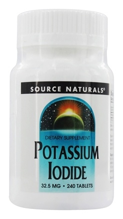 Source Naturals - Potassium Iodide 32.5 mg. - 240 Tablets