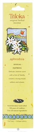 DROPPED: Triloka - Original Herbal Incense Aphrodisia - 10 Stick(s)
