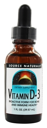 Source Naturals - Vitamin D-3 Liquid 2000 IU - 1 oz.