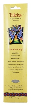 Triloka - Original Herbal Incense Hawaiian High - 10 Stick(s)