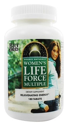 DROPPED: Source Naturals - Women's Life Force Multiple - 180 Tablets