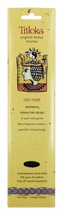 Triloka - Original Herbal Incense Isis Rose - 10 Stick(s)