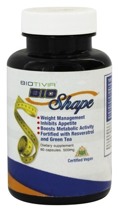 DROPPED: Biotivia - Bio Shape Weight Loss - 60 Vegetarian Capsules