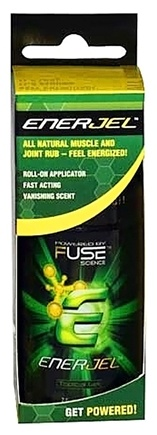DROPPED: Fuse Science - Enerjel Topical Gel - 2 oz. CLEARANCE PRICED