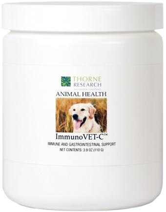DROPPED: Thorne Research - Animal Health ImmunoVET-C Powder - 3.9 oz. CLEARANCE PRICED