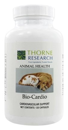 Thorne Research - Animal Health Bio-Cardio - 120 Capsules