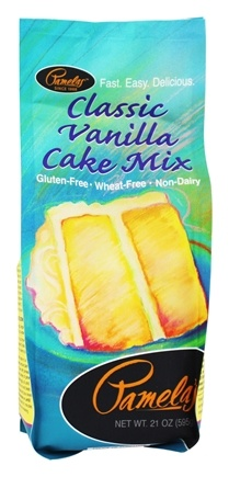 Pamela's Products - Cake Mix Gluten Free Vanilla - 21 oz.