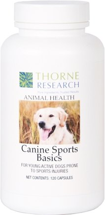 DROPPED: Thorne Research - Animal Health Canine Sports Basics - 120 Capsules