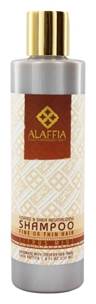 Alaffia - Shampoo Revitalizing Coffee & Shea Citrus Mint - 8 oz.