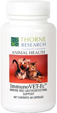 DROPPED: Thorne Research - Animal Health ImmunoVET-Fc - 60 Capsules