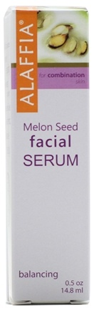 DROPPED: Alaffia - Facial Serum Melon Seed - 0.5 oz.