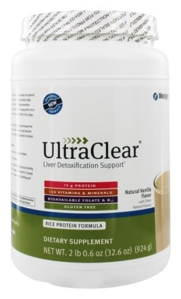 Metagenics - UltraClear Medical Food Original Vanilla Flavor - 32.6 oz.