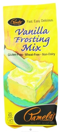 DROPPED: Pamela's Products - Frosting Mix Gluten Free Vanilla - 12 oz.