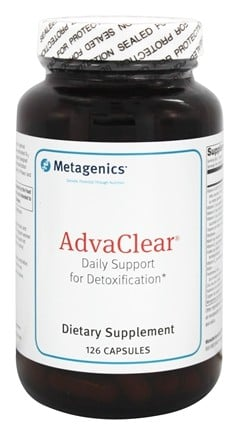 Metagenics - AdvaClear - 126 Capsules