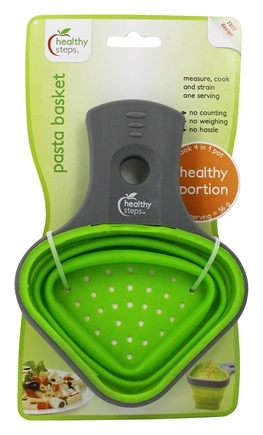 Healthy Steps - Pasta Basket Healthy Portion Serving