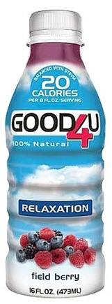 DROPPED: GOOD4U Sports Nutrition - Relaxation Formula 100% Natural Field Berry - 16 oz.