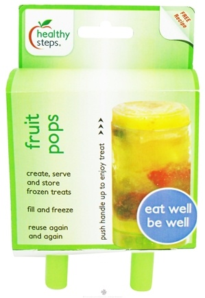 DROPPED: Healthy Steps - Fruit Pops - 2 Pack CLEARANCE PRICED