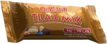 DROPPED: ISS Research - OhYeah Trail Mix Bar - 1.59 oz.