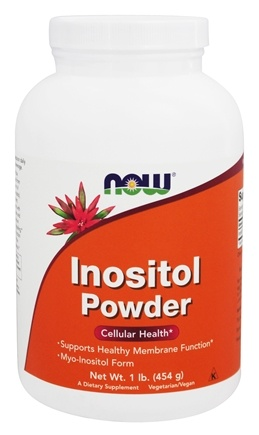 NOW Foods - Inositol Powder - 1 lb.