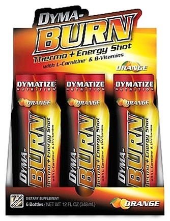 DROPPED: Dymatize Nutrition - Dyma-Burn Thermo & Energy Shot Orange - 2 oz. CLEARANCE PRICED